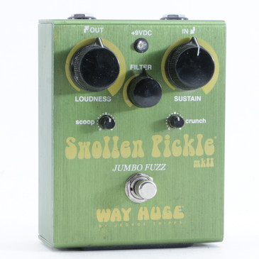 Way Huge Swollen Pickle Fuzz Guitar Effects Pedal P-10826