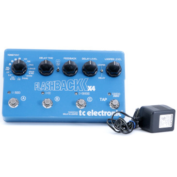 TC Electronic Flashback X4 Delay / Looper Guitar Effects Pedal P-10892