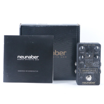 Neunaber Immerse Reverberator Reverb Guitar Effects Pedal w/ Box P-11015