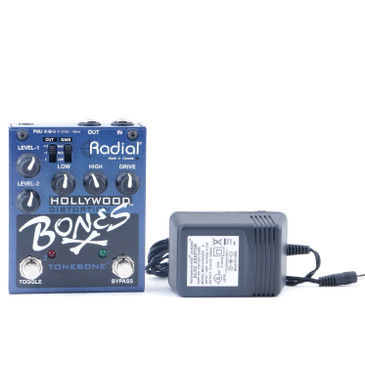 Radial Bones Hollywood Distortion Guitar Effects Pedal P-11060