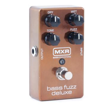 MXR M84 Bass Fuzz Deluxe Bass Guitar Effects Pedal P-11085