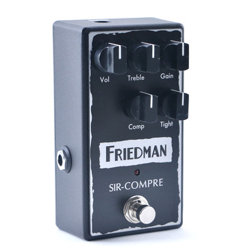 Friedman Sir-Compre Compression / Overdrive Guitar Effects Pedal P-11163