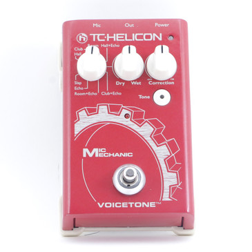 TC Helicon Mic Mechanic Vocal Effects Pedal P-11218