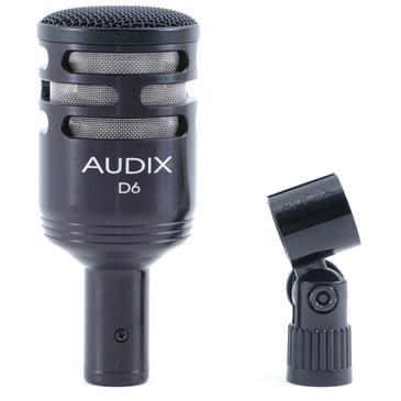 Audix D6 Dynamic Cardioid Microphone MC-4521