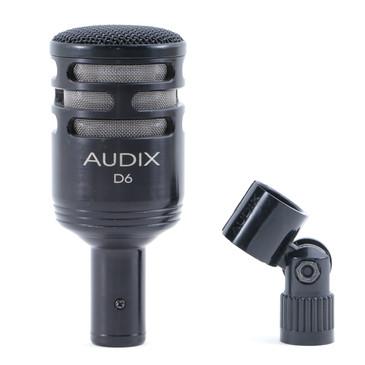 Audix D6 Dynamic Cardioid Microphone MC-4520