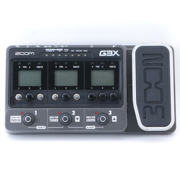 Zoom G3X Multi Effects Pedal *No Power Supply* P-11449