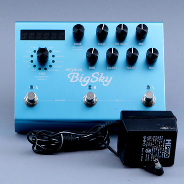 Strymon Blue Sky Reverb Guitar Effects Pedal P-11742