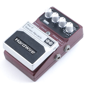Digitech Hardwire RV-7 Stereo Reverb Guitar Effects Pedal P-11769