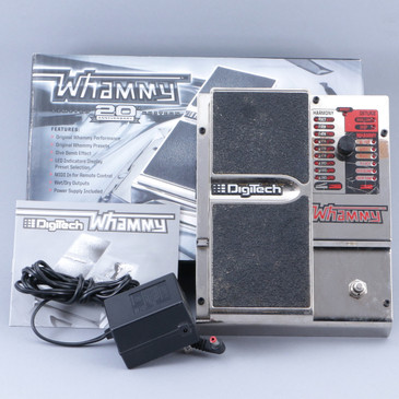Digitech Whammy 4 20th Anniversary Pitch Shifter Guitar Effects Pedal P-11862
