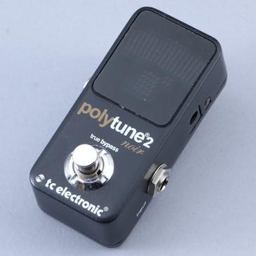 TC Electronic Polytune 2 Mini Noir Chromatic Tuner Guitar Effects Pedal P-11928