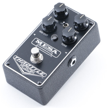 Mesa Engineering Throttle Box Distortion Guitar Effects Pedal P-12003