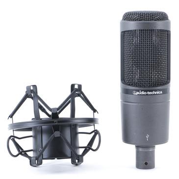 Audio Technica AT2020USB Condenser Cardioid Microphone MC-4747