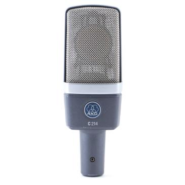 AKG C214 Condenser Cardioid Microphone MC-4745