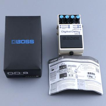 Boss DD-8 Digital Delay Guitar Effects Pedal w/ Box P-12029
