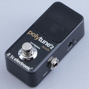 TC Electronic Polytune 2 Mini Noir Chromatic Tuner Guitar Effects Pedal P-12050