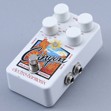 Electro-Harmonix Canyon Delay / Looper Guitar Effects Pedal P-12073