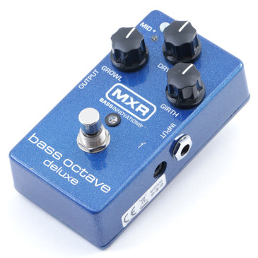 MXR M288 Bass Octave Deluxe Bass Guitar Effects Pedal P-12084