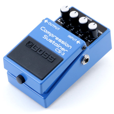 Boss CS-3 Compression Sustainer Guitar Effects Pedal P-12060
