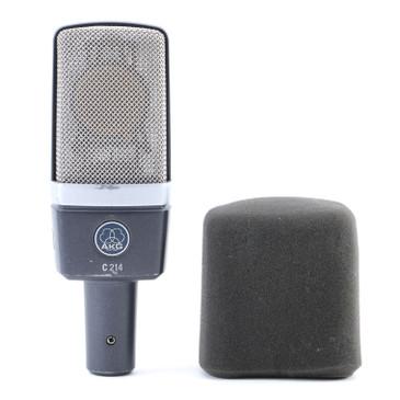 AKG C214 Condenser Cardioid Microphone MC-4755