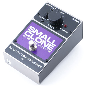 Electro-Harmonix EH4600 Small Clone Chorus Guitar Effects Pedal P-12096