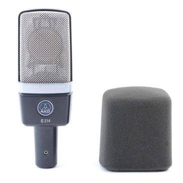 AKG C214 Condenser Cardioid Microphone MC-4757