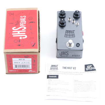 JHS Kilt V2 Overdrive Guitar Effects Pedal P-12105