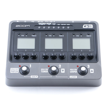 Zoom G3 Guitar Multi-Effects Pedal *No Power Supply* P-12142