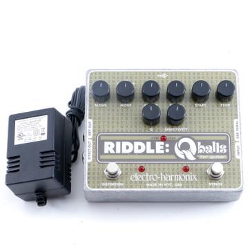 Electro-Harmonix Riddle Q-Balls Envelope Filter Guitar Effects Pedal P-12370