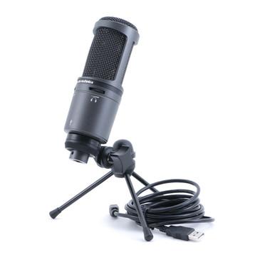 Audio-Technica AT2020USB+ Condenser Cardioid Microphone MC-4846