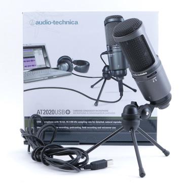 Audio Technica AT2020USB+ Condenser Cardioid Microphone MC-4862