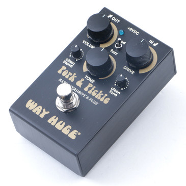 Way Huge Pork & Pickle Overdrive / Fuzz Bass Guitar Effects Pedal P-12478