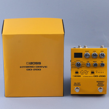 Boss OD-200 Hybrid Drive Overdrive Guitar Effects Pedal P-12492