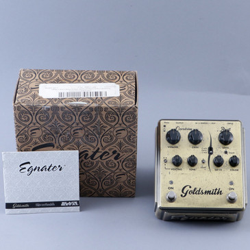 Egnater Goldsmith Overdrive Guitar Effects Pedal P-12493