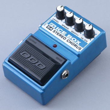 DOD FX64 Ice Box Chorus Guitar Effects Pedal P-12508