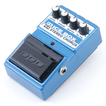 DOD FX64 Ice Box Stereo Chorus Guitar Effects Pedal P-12636