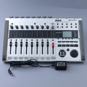 Zoom R24 Recorder:Interface:Controller:Sampler OS-9621