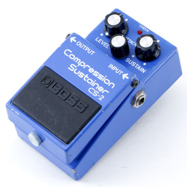 Boss Japan CS-2 Compression Sustainer Guitar Effects Pedal P-12664