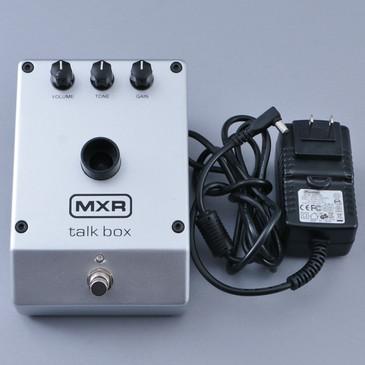 MXR M222 Talk Box Guitar Effects Pedal & Power Supply P-12677