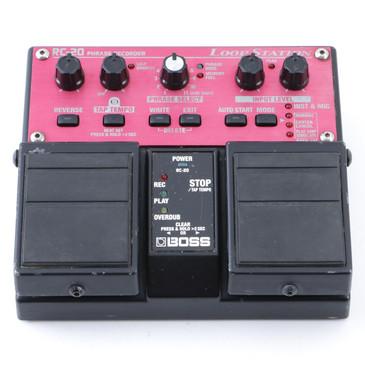 Boss RC-20 Loop Station Looper Guitar Effects Pedal P-12659