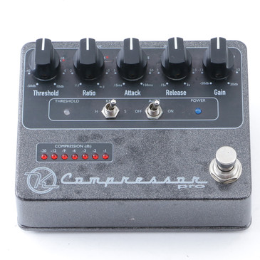 Keeley Compressor Pro Compression Guitar Effects Pedal P-12693