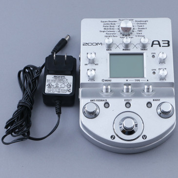 Zoom A3 Acoustic Guitar Effects Pedal P-12718