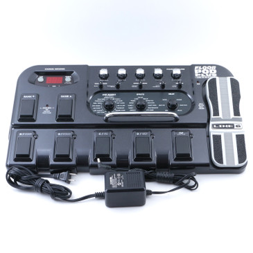 Line 6 Floor Pod Plus Guitar Multi-Effects Pedal & Power Supply P-12727