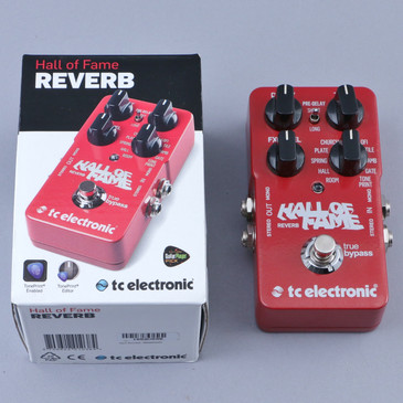 TC Electronic Hall Of Fame Reverb Guitar Effects Pedal P-12750