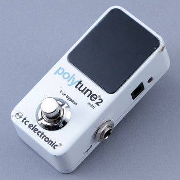 TC Electronic Polytune 2 Mini Chromatic Tuner Guitar Effects Pedal P-12760