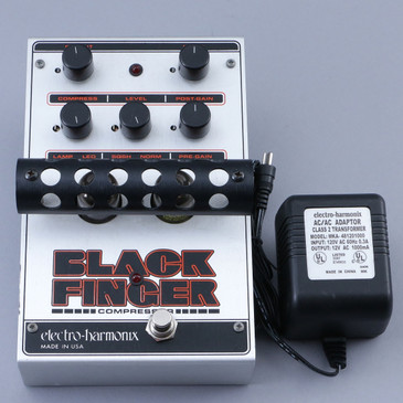Electro-Harmonix Black Finger Compressor Guitar Effects Pedal P-12771