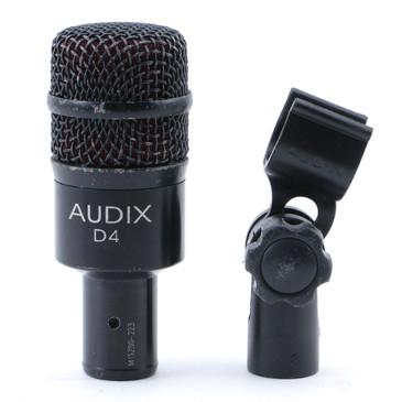 Audix D4 Dynamic Hypercardioid Microphone MC-4921