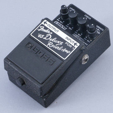 Boss FDR-1 '65 Deluxe Reverb Guitar Effects Pedal P-12817