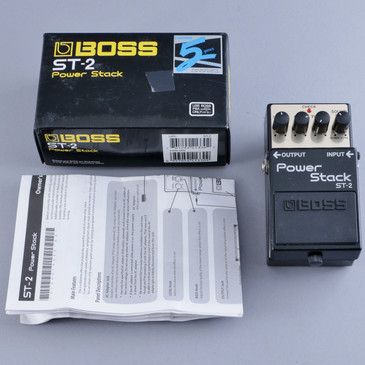 Boss ST-2 Power Stack Distortion Guitar Effects Pedal P-13884