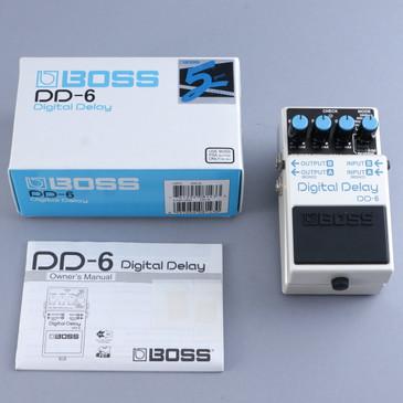 Boss DD-6 Digital Delay Guitar Effects Pedal P-13880