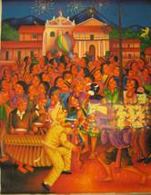 Antonio Coche Mendoza -- Fiesta Nocturna Atitlan